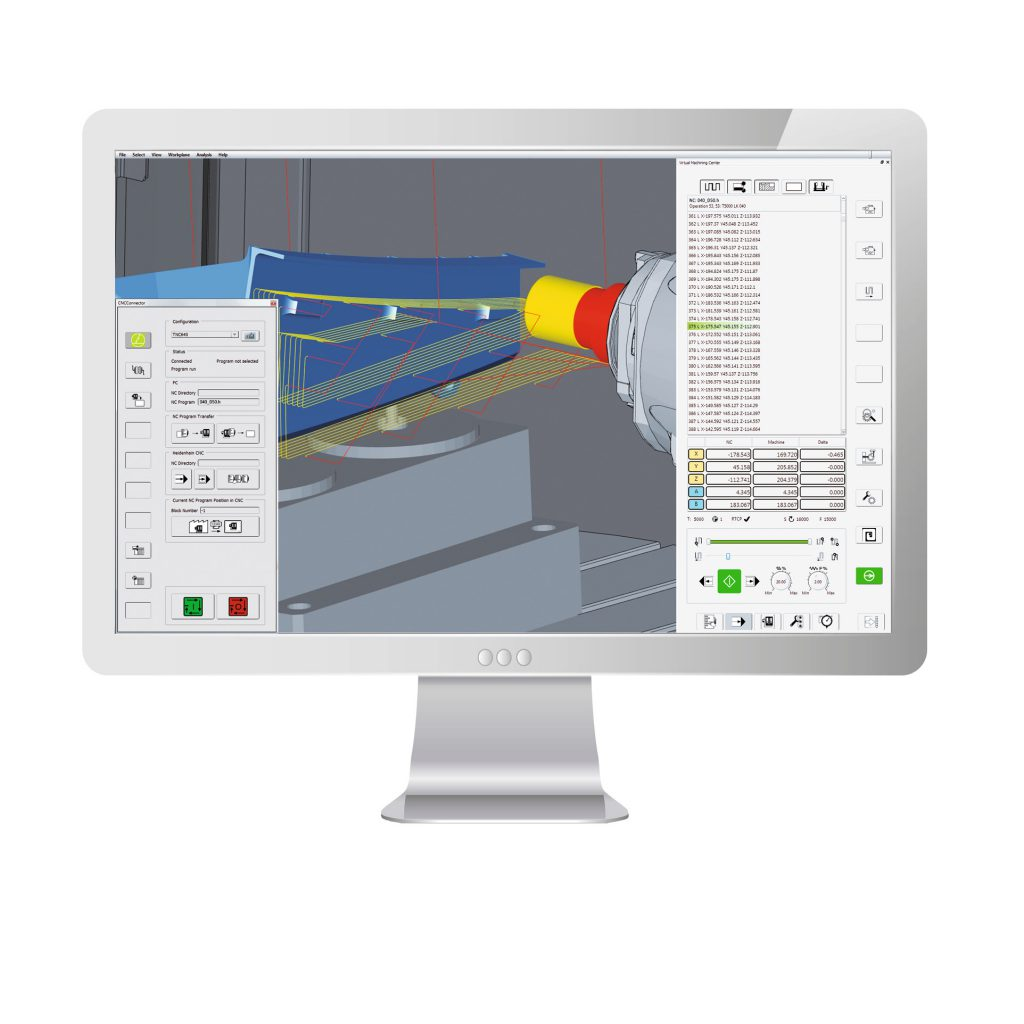 hyperMILL VIRTUAL Machining monitor