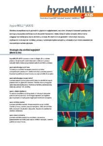 Broszura hyperMILL 5-Axis